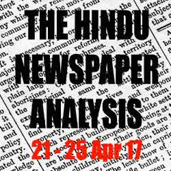 hindu newspaper analysis