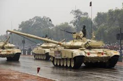 shortages of weapons in Indian army