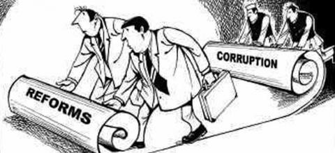 corruption and reforms